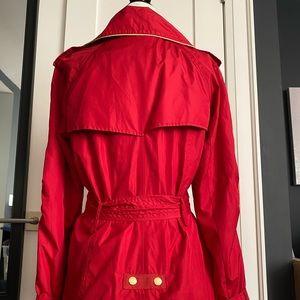Rachel Zoe Jackets & Coats - Rachel Zoe Red Trench Coat XS